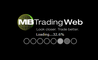 MB Trading Web loading screen