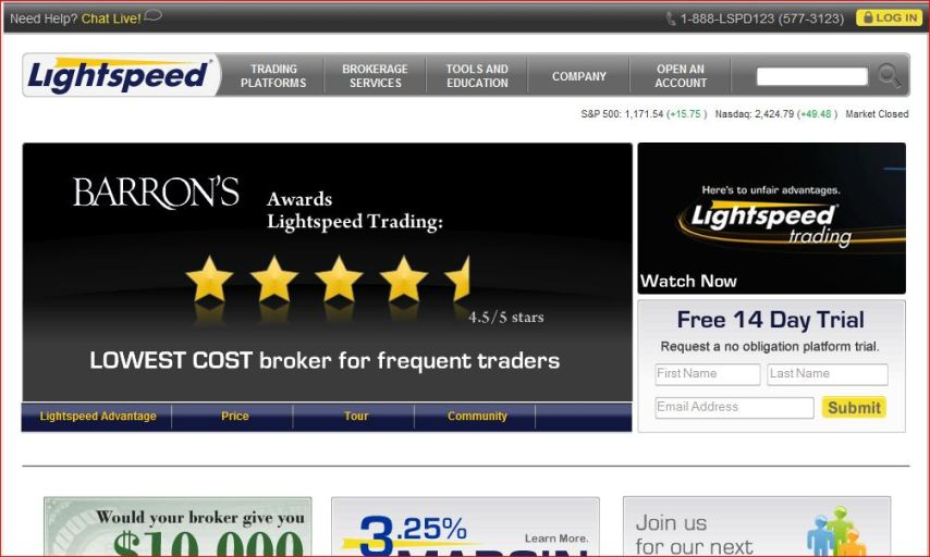 Review of lightspeed trading