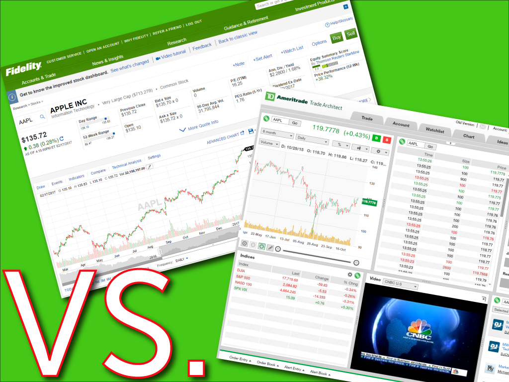 Td ameritrade vs optionshouse